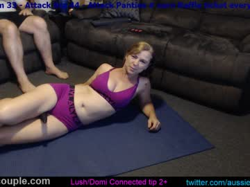 aussie_couple72 cam video from Chaturbate