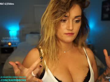 kayribbons record cam show from Chaturbate
