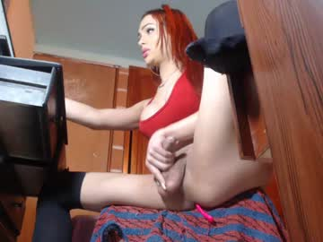 sleepershemales_x record blowjob show from Chaturbate.com