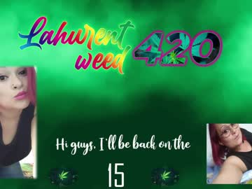 lahurent_weed420 cam video