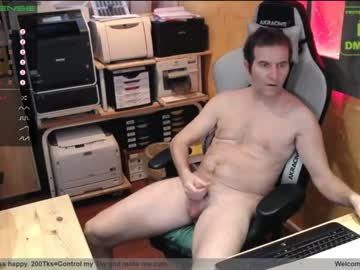 nakedluke show with toys from Chaturbate.com