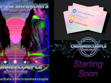 creameecouple public show video from Chaturbate